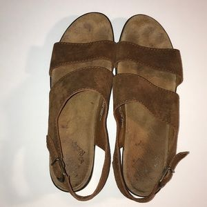 Rockport Brown Leather Sandals